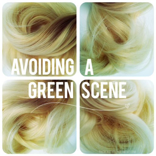 Go Green with Everything BUT Your Hair!